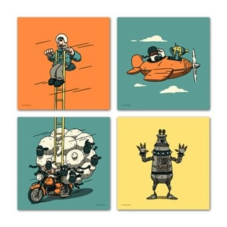 Wallace & Gromit: Series 2 Mini Art Prints