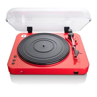 Lenco L-85 Red USB Turntable