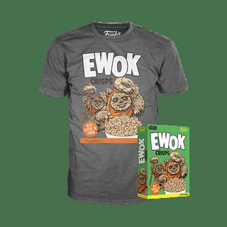 Ewok Crisps: Star Wars Funko Cereal Box Tee