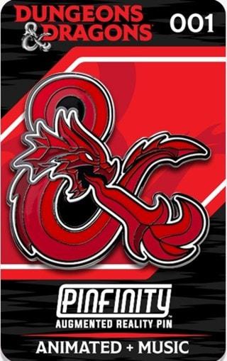 Dragon Ampersand: Dungeons & Dragons Pinfinity Pin Badge