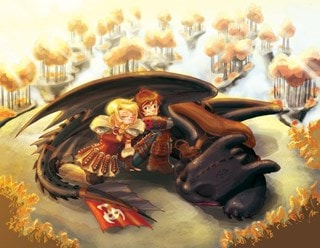 How To Train Your Dragon: Uncharted Territory Lithograph Limited Edition Art Print
