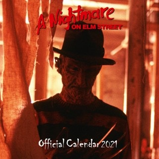 A Nightmare On Elm Street: Square 2021 Calendar