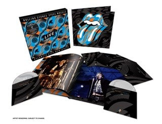 Steel Wheels Live - Atlantic City, New Jersey - Blu-Ray/2DVD/3CD