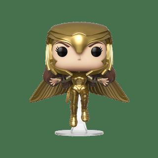 Wonder Woman 1984 Golden Armour Flying (324) DC Pop Vinyl