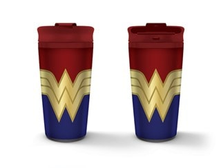 Wonder Woman: Strong Metal Travel Mug