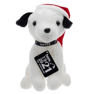 Nipper hmv Dog Christmas 2021 (Small) Soft Toy