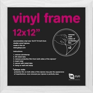 """12"""" Album Cover Frame: White: 31.5X31.5cm: 30mm"""