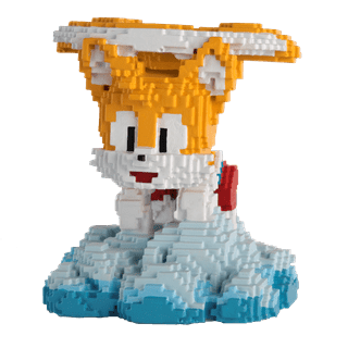 16 Bit Tails: Sonic Figurine: Hero Collector