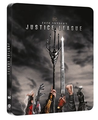 Zack Snyder's Justice League (hmv Exclusive) Limited Edition Steelbook
