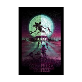 Stranger Things: Glow in the Dark Limited Edition Art Print