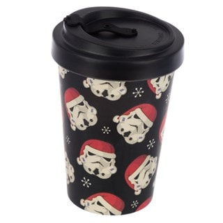Original Stormtrooper Reusable Screw Top Bamboo Composite Christmas Travel Mug