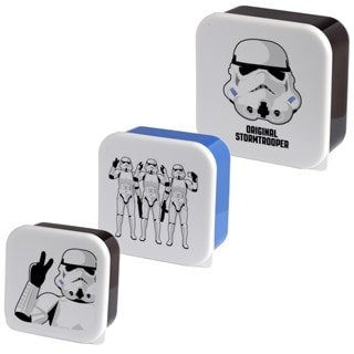 Original Stormtrooper Set Of 3 Lunch Boxes