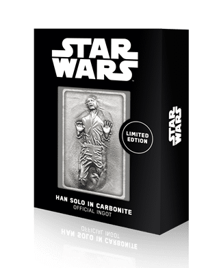 Han Solo In Carbonite: Star Wars Limited Edition Ingot Collectible