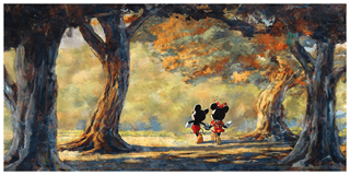 Mickey & Minnie Mouse: Disney Limited Edition Art Print