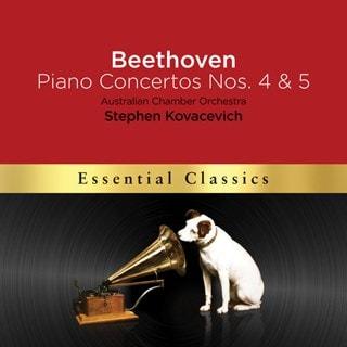 Beethoven: Piano Concertos Nos. 4 & 5 'Emperor'