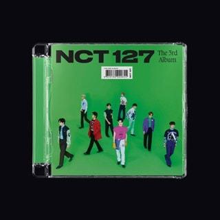 NCT 127 the 3rd Album 'Sticker' (Jewel Case General Ver.)