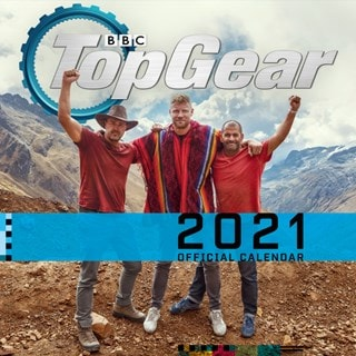 Top Gear: Square 2021 Calendar