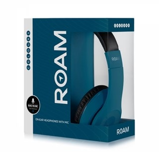 Roam Colours Midnight Blue Headphones w/Mic (hmv Exclusive)