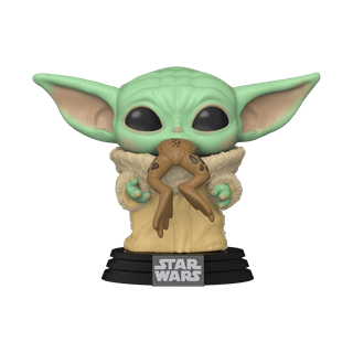 The Mandalorian: The Child with Frog (379) Star Wars Pop Vinyl