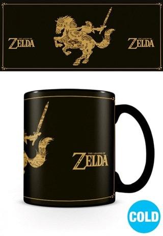 Heat Changing Mug: Legend Of Zelda: Map Silhouette