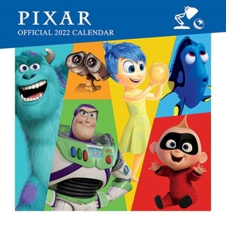 Pixar Collection: Square 2022 Calendar