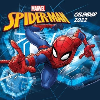 Spider-Man: Marvel Square 2022 Calendar