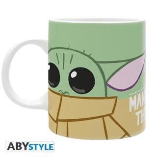 The Mandalorian: Baby Yoda Green Mug (hmv Exclusive)