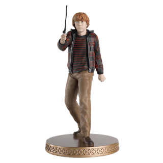 Ron Weasley Year 7 Harry Potter 1:16 Figurine With Magazine: Hero Collector