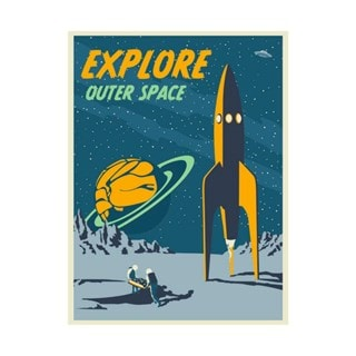 Explore Space Limited Edition Art Print