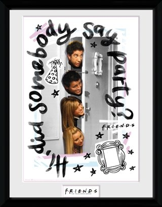 Friends: Party Framed Photographic Print