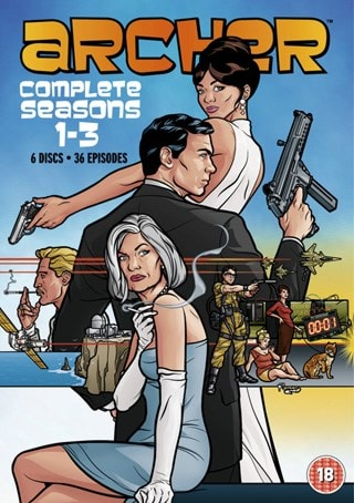 Archer: Seasons 1-3