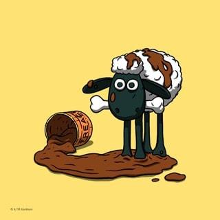 Shaun The Sheep Mini Art Print