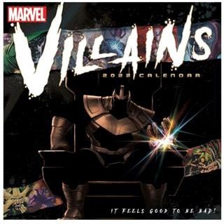 Marvel Villains: Square 2022 Calendar