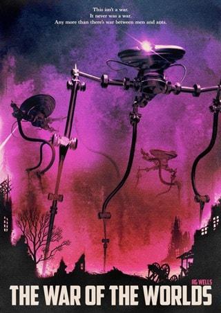 War Of The Worlds Variant Matt Griffin Art Print