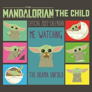 The Child: The Mandalorian: Star Wars (hmv Exclusive) Square 2022 Calendar