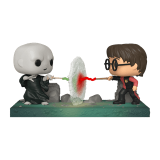 Harry vs Voldemort (119) Harry Potter Pop Vinyl Moments