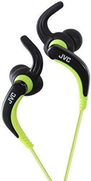 JVC HA-ETX30 Black/Green Sports Earphones