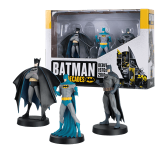 Batman Decades: 3 Figurine Set: Hero Collector
