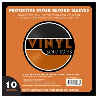 Lasgo PVC Vinyl Sleeve 10 Pack