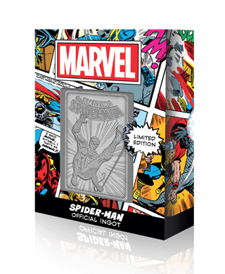 Spider-Man: Marvel Limited Edition Ingot Collectible
