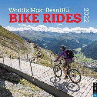 World's Most Beautiful Bike Rides Square 2022 Calendar