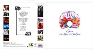 Queen Collectors Edition Record Sleeve 2022 Calendar