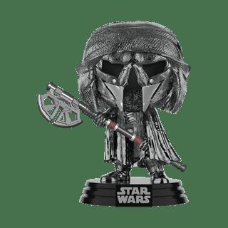 Chrome Knight of Ren: Long Axe (325) Rise Of Skywalker: Star Wars Pop Vinyl