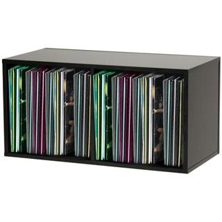 Glorious Record Box 230 Black Vinyl Storage