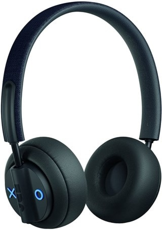 Jam Out There Black Active Noise Cancelling Bluetooth Headphones