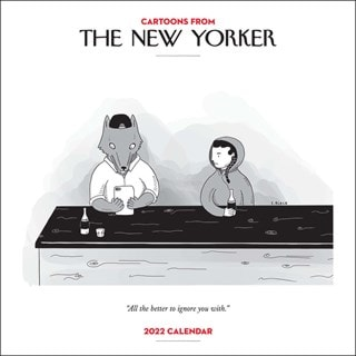 Cartoons from The New Yorker Square 2022 Calendar