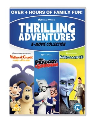 Thrilling Adventures: 3-movie Collection