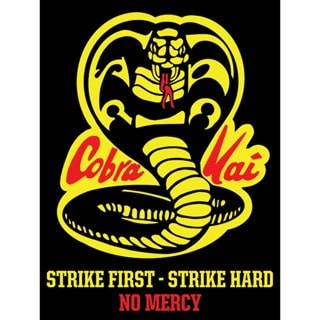Cobra Kai No Mercy Canvas Print (hmv Exclusive)