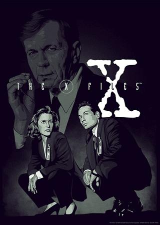 X-Files: Smoking Man Giclee Limited Edition Art Print