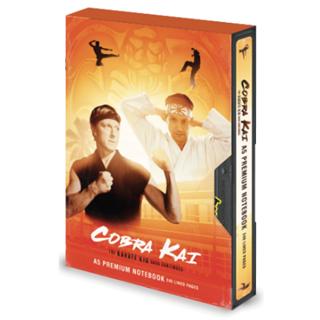 Cobra Kai VHS Premium A5 Notebook (hmv Exclusive)